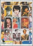 Niger 1999. Histoire Du Cinéma Américain. Chaplin, Errol Flynn, Judy Garland, Kirk Douglas, Audrey Hepburn, Clint, Elvis - Cinema