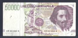 BANCA D ITALIA 50000 LIRE - [ 2] 1946-… : République