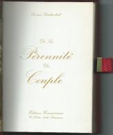 SEXUALITE- Docteur DARLAMBACH -De La PERENNITE DU COUPLE Lausanne- Ed.Connaissance 1970)Savoir Faire En Am - Livres, BD, Revues