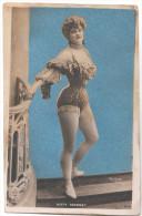CARTE PHOTO FEMME KITTY TRANNEY  PHOTO MONTAGE  EDIT Reutlinger PARIS 1188 - Artistes