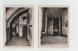 Fort De VAUX - Lot De 2 Photos - Le Central Téléphonique Et L'escalier...- Guerre 1914-18 - 1914-18