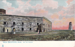 TUCK #1079; NEW BEDFORD, Massachusetts; Old Fort Rodman, 00-10s - United States