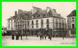 REDON - (I.& V.) La Place St. Sauveur  (recto Verso) - Redon