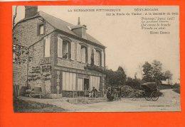 14 BENY BOCAGE : Sur La Route Du Viaduc - A La Descente Du Train - Autres Communes