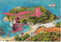 GREECE - Disney/Mickey Mouse, Corfu Island/Paleokastritsa, Unused - Greece