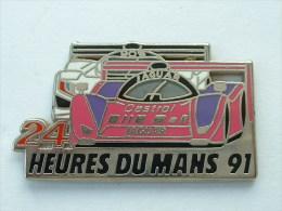 Pin´s  24H DU MANS 91 - JAGUAR - PEUGEOT 905 - Jaguar