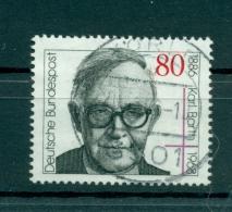 Allemagne -Germany 1986 - Michel N. 1282 - Karl Barth - [7] République Fédérale
