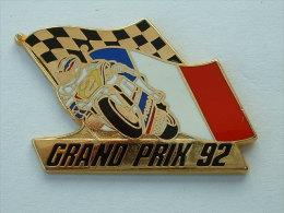 Pin´s GRAND PRIX 92 - FRANCE - HONDA - MICHAEL DOOHAN - Motorbikes
