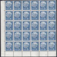 30x Saarland 410 Heuss 3Fr 1957 ** MNH - 1957-59 Fédération