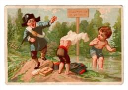 Chromo Imp. Testu & Massin, Enfants - Trade Cards