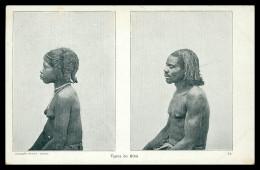 ANGOLA - BIHÉ -  COSTUMES -  Typos De Bihé( Ed. Col. Moraes Nº 34 ) Carte Postale - Angola