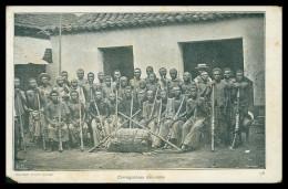 AFRICA - ANGOLA -  COSTUMES - Carregadores Bailundos  ( Ed. Col. Moraes Nº 38 ) Carte Postale - Angola