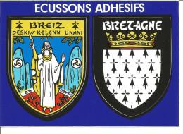 Blason Armoiries  Bretagne Héraldique Ecusson Adhésif - Adesivi
