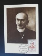 Carte Maximum Card 1959 Henri Bergson Ref 59027 - 1950-59