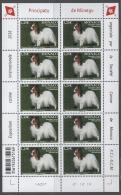 MONACO 2016 / Y.T. N° 3021 (EXPOSITION CANINE INTERNATIONALE  ) Feuille De 10 Timbres Neufs** - Blocks & Sheetlets