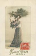 Belle Carte  Signée  Arjalew     -    Belle Femme , Bonne Année       AG811 - Femmes