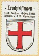 Werbemarke (Reklamemarke, Siegelmarke) Kaffee Hag : Wappen Von Trochtelfingen (2) - Tee & Kaffee