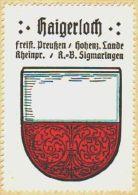 Werbemarke (Reklamemarke, Siegelmarke) Kaffee Hag : Wappen Von Haigerloch - Tea & Coffee Manufacturers