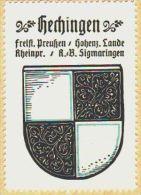 Werbemarke (Reklamemarke, Siegelmarke) Kaffee Hag : Wappen Von Hechingen (type 2) - Tea & Coffee Manufacturers