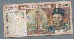 AFRIQUE DE L´OUEST 10 000 FRANCS - West-Afrikaanse Staten
