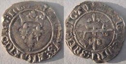 Champagne Ardennes Aube (Bourgogne) Troyes Mars 1419 - 1420 Florette Charles VI Cantonnement Type 2 Et 3 - 1380-1422 Charles VI Le Fol