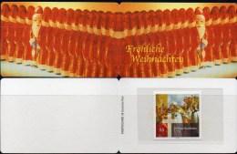 Weihnachten Deutschland Markenheft 2004 BRD Portocard 2401 ** 7€ Mönch Hl.Bonifatius Carnet Christmas Booklet Of Germany - Noël