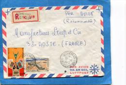 MARCOPHILIE-  Lettre-REC -Madaga>Fran�e-cad VOHEMAR-1972-2 stamps N�506 expo phil+405 usine de chrome