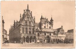 I3904 Mechelen Malines - Stadhuis - Hotel De Ville / Viaggiata 1952 - Mechelen