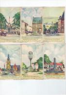 Perrons En Schandpalen (Luik,Theux,Stavelot,Mespelare,Brakel,Vorselaar) - Liebig