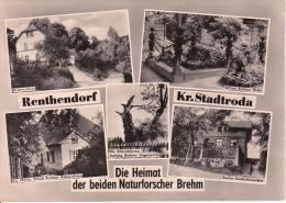 AK Renthendorf - Kr. Stadtroda - Naturforscher Brehm - Mehrbildkarte (21478) - Stadtroda