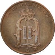 Norvège, 5 Öre, 1875, Royal Norwegian Mint, TTB+, Bronze, KM:349 - Norvège