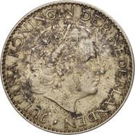 Pays-Bas, Juliana, Gulden, 1956, TTB+, Argent, KM:184 - [ 8] Monnaies D'or Et D'argent