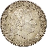 Pays-Bas, Juliana, Gulden, 1954, TTB, Argent, KM:184 - [ 8] Monnaies D'or Et D'argent