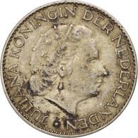 Pays-Bas, Juliana, Gulden, 1955, TTB, Argent, KM:184 - [ 8] Monnaies D'or Et D'argent