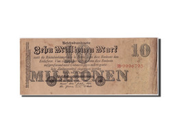 Allemagne, 10 Millions Mark, 1923, KM:96, 1923-07-25, TB - [ 3] 1918-1933 : Weimar Republic