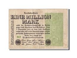 Allemagne, 1 Million Mark, 1923, KM:102b, 1923-08-09, TB - [ 3] 1918-1933 : Weimar Republic