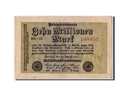 Allemagne, 10 Millions Mark, 1923, KM:106a, 1923-08-22, TTB - [ 3] 1918-1933 : Weimar Republic