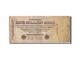 Allemagne, 1 Million Mark, 1923, KM:94, 1923-07-25, B+ - [ 3] 1918-1933 : Weimar Republic