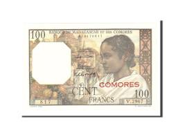 Comoros, 100 Francs, 1960, Undated, KM:3a, NEUF - Comores