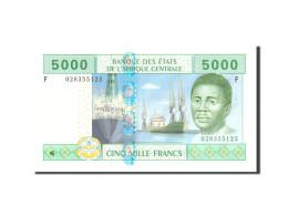États De L'Afrique Centrale, 5000 Francs, 2002, KM:509F, Undated, NEUF - États D'Afrique Centrale