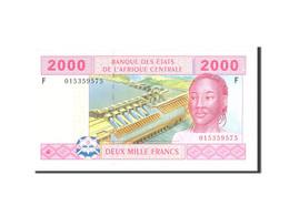 États De L'Afrique Centrale, 2000 Francs, 2002, KM:508F, Undated, SPL - États D'Afrique Centrale