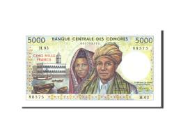 Comoros, 5000 Francs, 1984, 1984, KM:12a, NEUF - Comores