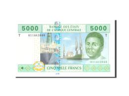 États De L'Afrique Centrale, 5000 Francs, 2002, Undated, KM:109T, NEUF - États D'Afrique Centrale