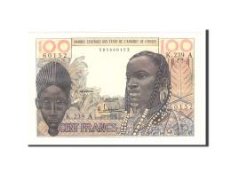 West African States, 100 Francs, 1965, Undated, KM:801Tf, TTB+ - États D'Afrique Centrale