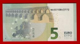 5 EURO AUSTRIA AUTRICHE - N010 J5 - DRAGHI - UNC - NEUF - FDS - EURO