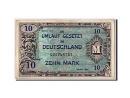 Allemagne, 10 Mark, 1944, KM:194a, Undated, TB+ - [ 5] Ocupación De Los Aliados
