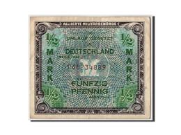 Allemagne, 1/2 Mark, 1944, KM:191a, Non Daté, TB+ - [ 5] 1945-1949 : Occupazione Degli Alleati