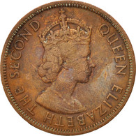 Etats Des Caraibes Orientales, Elizabeth II, Cent, 1960, TB+ - Caraïbes Orientales (Etats Des)