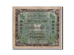Allemagne, 1/2 Mark, 1944, KM:191a, Non Daté, TB - [ 5] Ocupación De Los Aliados