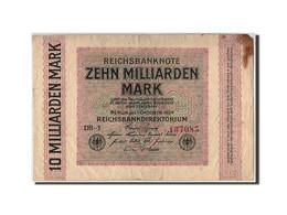 Allemagne, 10 Milliarden Mark, 1923, KM:117b, 1923-10-01, TB - [ 3] 1918-1933 : Weimar Republic